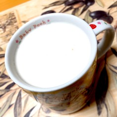 寒い季節に!ホットハニージンジャーミルク