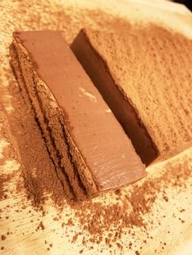 材料4つ☆激ウマ☆チョコムースケーキ