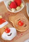 ホットケーキデコレーション幼児食