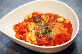 疲労回復レシピ★豚肉と野菜のトマト煮込み