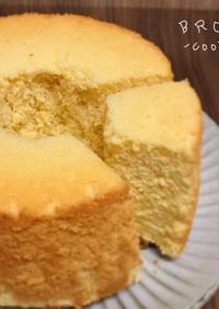 ノンオイル☆幸せのレモンシフォンケーキ