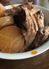 ブリあらと大根の煮物