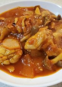鶏肉のトマトソース煮込み