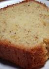アーモンドプードルの入ったパウンドケーキ