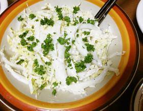 簡単★白菜のしゃきしゃきサラダ