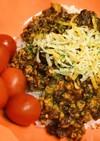 ペースト活用●鶏肉のチーズ&キーマカレー