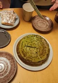 人気抹茶チーズケーキの18cm版