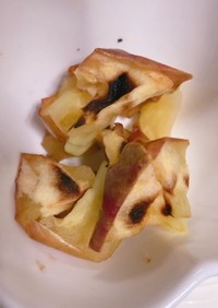 干し芋みたい!レンジで簡単干しリンゴ