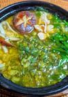 麦ごはんで✿鶏肉とニラの塩ダレ雑炊