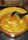 カレールーなし!スープが美味しいカレー