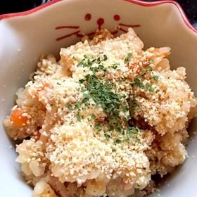 胚芽米のトマトとツナの炊き込みご飯