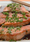 高木純の簡単サーモンポン酢焼き