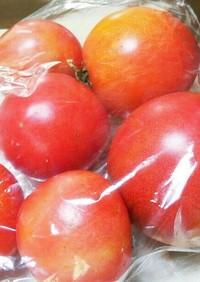 青いトマトを赤くする方法