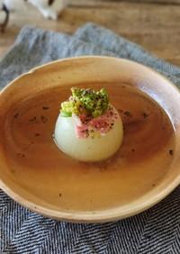 まるごと小玉ねぎのコンソメスープ