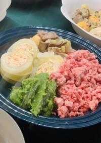 犬のご飯 鶏肉のロール白菜