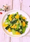 簡単♪小松菜とたまごの炒め物(^^)♡