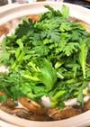 だし香るシンプル椎茸のしゃぶしゃぶ鍋