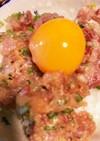 【定番】自家製ブリのネギトロ丼
