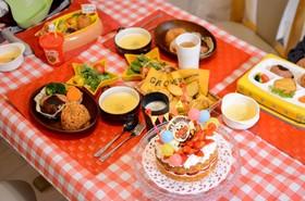 バースデーディナー 2歳  覚書