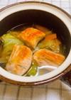 鮭と野菜のスープ