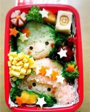 キキララお弁当の写真