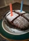 ベルギーチョコ蒸しケーキを更に美味しく