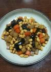五目豆(大豆水煮を使って)2