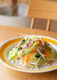 1日の2/3以上の野菜が摂れる焼ビーフン