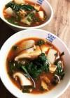 鯖缶☆栄養満点トマトスープ