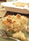 りんごとナッツのクランブルケーキ