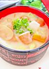 まるごと大豆味噌スープ