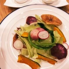 揚げ野菜の彩りサラダ