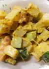 コロコロ野菜のマヨマスタードサラダ