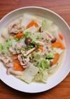 簡単でおすすめ!豚肉と白菜の和風ミルク煮
