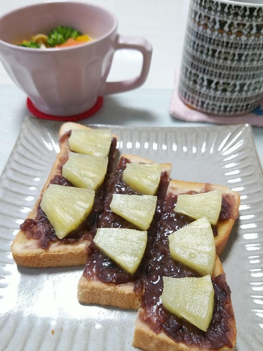 餡子とパインのジューシートースト