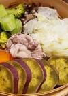 豚肉と野菜のせいろ蒸し