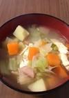 絶対おかわりしたくなる野菜スープ