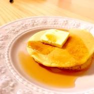堀口家のふわふわ米粉ホットケーキ