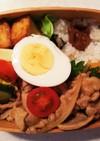 たんぱく質多めのお弁当⑯厚揚げバター醤油
