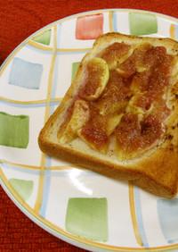 美味いちじくトースト♪めっけ