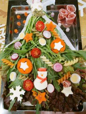 クリスマスサラダ♪めっけ
