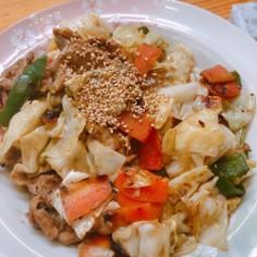 カレーマヨ♪野菜炒め