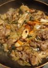 重ね煮で中華丼