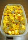 作り置き 胸肉とカボチャの優しい煮物