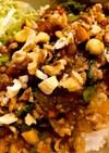 簡単♡野菜たっぷりひき肉のあんかけ丼
