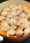 お肉柔らか☆鶏肉と白菜の酒蒸し。