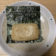 餅のごま油焼き