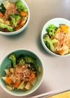 レンジで大根ブロッコリーの温野菜サラダ