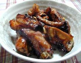 ハニースペアリブ・コーラ煮__Honey Pork Spareribs boiled Coke