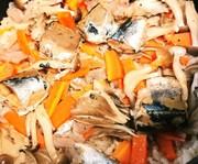 木の屋のさんま水煮缶の炊き込みご飯の写真